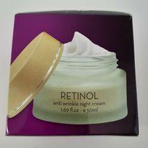 Dead Sea Collection Anti Wrinkle Aging Retinol Night Face Cream 1.69 Oz Beauty image 4