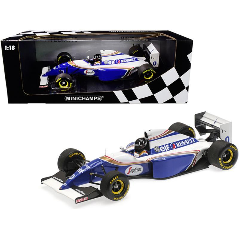 Williams Renault FW16 #0 Damon Hill 2nd Place Formula One