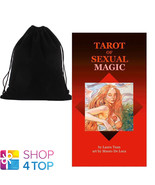 TAROT OF SEXUAL MAGIC DECK CARDS TUAN FORTUNE TELLING LO SCARABEO WITH B... - $22.27