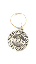 british pewter celtic design keyring, keyring, keyfob, keychain,  uk, keyring, k