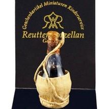 DOLLHOUSE Bottle of Chianti Reutter 1.960/0 Miniature - $9.87