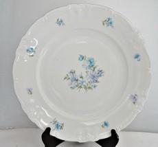 Winterling Tivoli Scroll Leaf Edge Porcelain Chop Plate Round Platter - $49.49