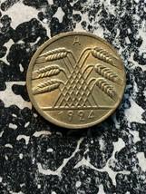 1924-a Alemania 10 Pfennig Lote #Jm730 Alta Calidad !Precioso! Ligeramente - $14.03