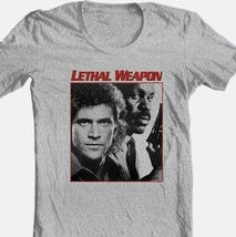 Lethal Weapon T-shirt retro 80s movie Free Shipping cotton graphic grey tee image 2