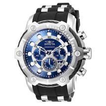Invicta Bolt Chronograph Silver-Tone Men's Watch 26750 Mens Blue - $105.87