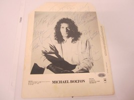 Michael Bolton singer songwriter signed autographed 8x10 photo COA - $150.00
