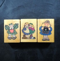 Rubber Stamps Lot 3 Teacher My Pal Joy Comotion Vintage 1994 - $11.04