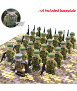 21pcs/set WW2 US Troops The Allied Army Officer and Soldiers Minifigure Toy - $29.95
