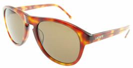 LACOSTE Light Havana / Brown Sunglasses L608S 218  - $87.71
