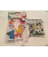 Wilton Sesame Street Cake Decorations and Baseball Player Toppers New in... - $3.99