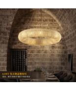 "Crystal Halo Chandelier E14 Light Ceiling Lamp Home Lighting 23.6"" / 31.4"" - $740.94+"