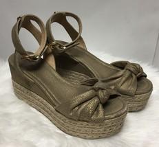 Micheal Kors Metallic Wedge Sandal - $39.00