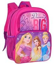 "Disney Princess Dream Big 16"" Backpack/Bookbag - Back To School New Nwt - $16.82"