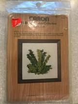 Vintage Caron Hallmark Design Collection Ferns Crewel Kit 6412 1977 - $12.71