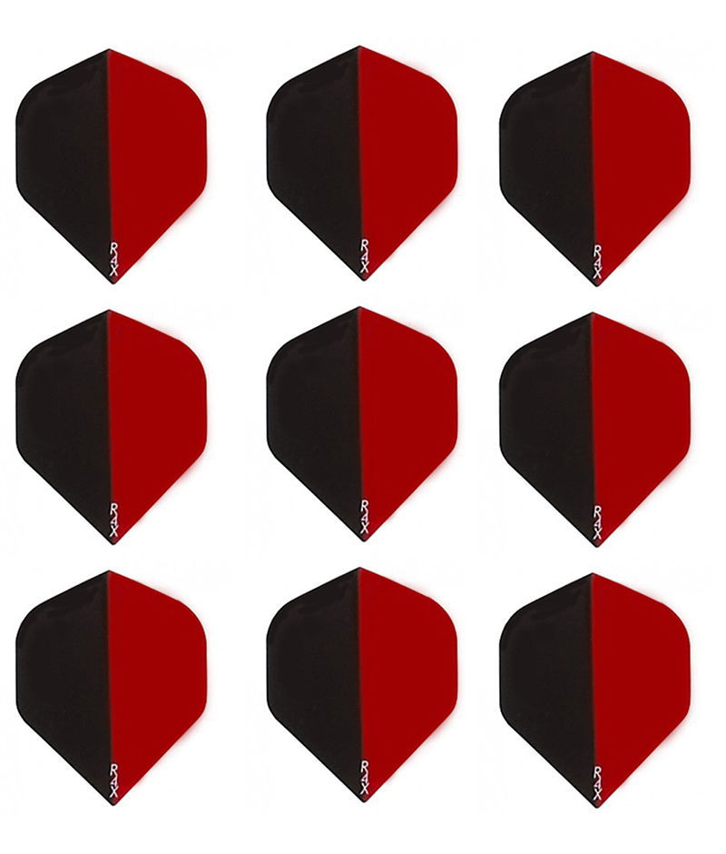 Primary image for Ruthless Trans Red/Black R4X Standard Micron Dart Flights - 3 sets (9 flights)
