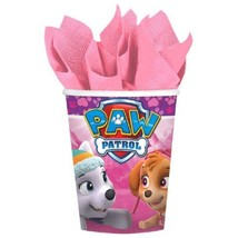 Paw Patrol Girl 8 9 oz Hot Cold Paper Cups Birthday Party - $4.55