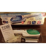 Tobi Quick Travel Clothes Suit Steamer Fabric Wrinkles with accessories~... - $14.85