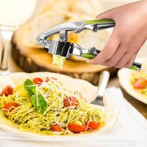 u-hoMEy Garlic Press Cooking Fruit Vegetable Slicer Cutter - $15.95