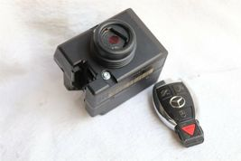 Mercedes Ignition Start Switch Module & Key Fob Keyless Entry Remote 2205450308 image 7