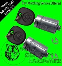 Silverado Sierra Others 07-13 OEM Door Pair Key Lock Cylinder 2 Keys - $62.96