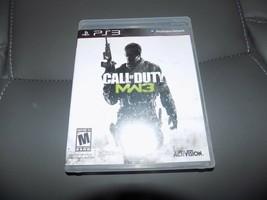 Call of Duty: Modern Warfare 3 (Sony PlayStation 3, 2011) EUC - $30.80