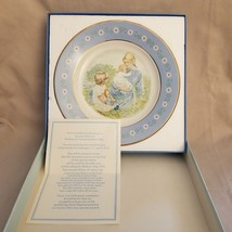 VINTAGE 1974 Collector Plate Tenderness Avon Commemorative Pontesa Ironstone - $2.92