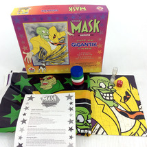 The Mask Animated Series Board Game Gigantik Rare Vintage 90s Collectibl... - $24.90