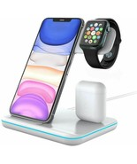 Techno S Fast 3 in 1 Wireless Dock Charging Station for Apple,Samsung + ... - $57.19