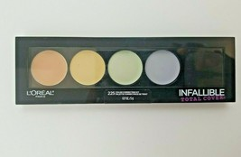 L'Oreal Paris Cosmetics Infallible Total Cover 225 Color Correcting Kit Palette - $10.45
