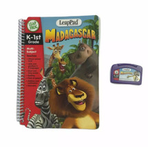 Leap Frog Leap Pad Madagascar K-1st Multi Subject Languages Book Cartridge  - $13.16
