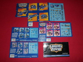Lot Of 1986 Legions Of Power Instructions Tonka Vintage - $23.33