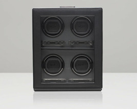 WOLF Viceroy 2.7 Quad 4 Piece Watch Winder with Cover - $1,170.00