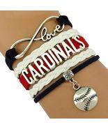 ST. LOUIS CARDINALS INFINITY LOVE BRACELET  - $18.00