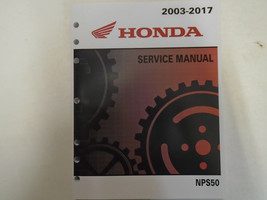2013 2014 2015 2016 2017 Honda NPS50 RUCKUS Service Shop Repair Manual NEW - $99.12