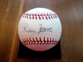 PEDRO RAMOS YANKEES SENATORS PITCHER SIGNED AUTO OML BASEBALL JSA AUTHENTIC - $69.29