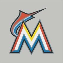 Miami Marlins #6 MLB Team Logo Vinyl Decal Sticker Car Window Wall Cornhole - $4.40+