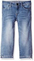 Calvin Klein Big Girls' Capri Skinny Pant, Frost, Size 12 - $34.64