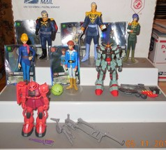"""2001 Bandai Mobile Suit Gundam 4"""" Action Figure collection Lot of 8 HTF ... - £152.86 GBP"""