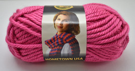 Hometown USA Lion Brand Super Bulky Acrylic Blend Yarn - 1 Skein Honolul... - $5.65