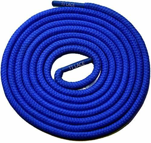 "Primary image for 54"" Royal Blue 3/16 Round Thick Shoelace For All Men's Casual Shoes"