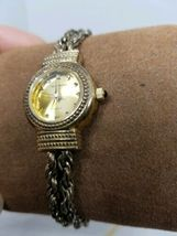 Vintage Tecnibond Ladies Watch Gold Rope Runs image 3