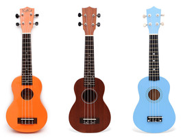 Ukulele Hawaiian Small Guitar Wooden Insturment - $29.69+