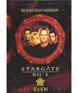 Stargate SG-1: Season 8 DVD Boxed Set - $12.99