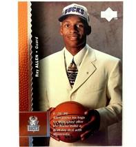 Ray Allen Rookie Card 1996-97 Upper Deck #69 NBA HOF Milwaukee Bucks  - $3.91