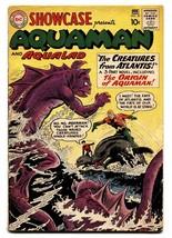 Showcase Comics #30 1961 1st Aquaman tryout Origin hot book G/VG - $459.78