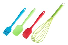 Kitchen Winners Cooking Utensils Gift Set Of 4 Silicone Kitchen Tools  - €16,91 EUR