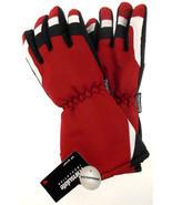 Joe Boxer Boys Red Black Ski Gloves 3M Thinsulate Waterproof Snow Winter Choice - $2.87 - $5.89
