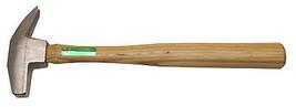 Horseshoe Driving Hammer, Stainless Steel/Hardwood, 14-oz. - $53.45