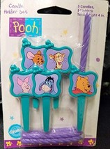 Winnie The Pooh Tiger Cake Candle Holder Nala Decoration Party Set - $10.84