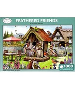 Otter House 1000 Piece Puzzle - Feathered Friends by Richard Macneil - $34.98